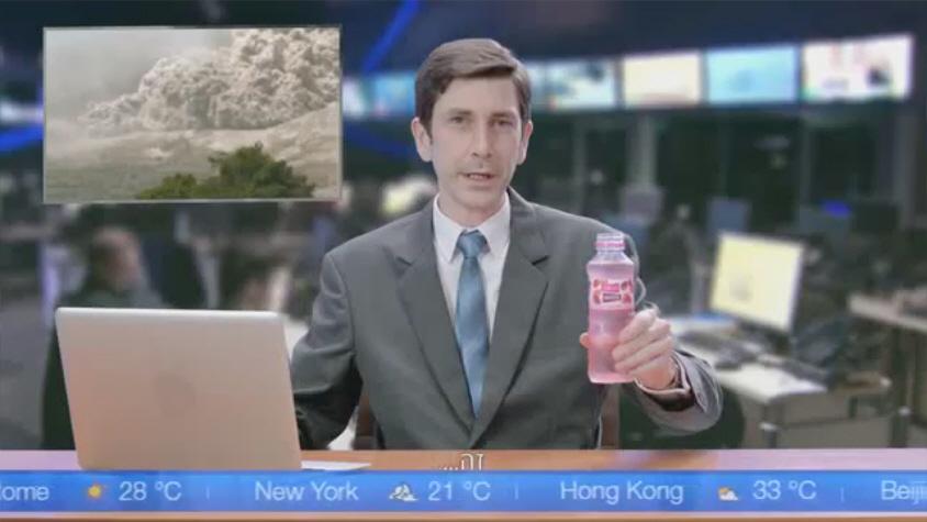 אדלר חומסקי משיקים את Fruit Water של יפאורה תבורי
