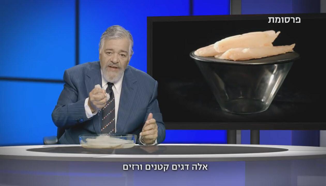 רפי בודק: רפי גינת מפרגן לדגי תנובה