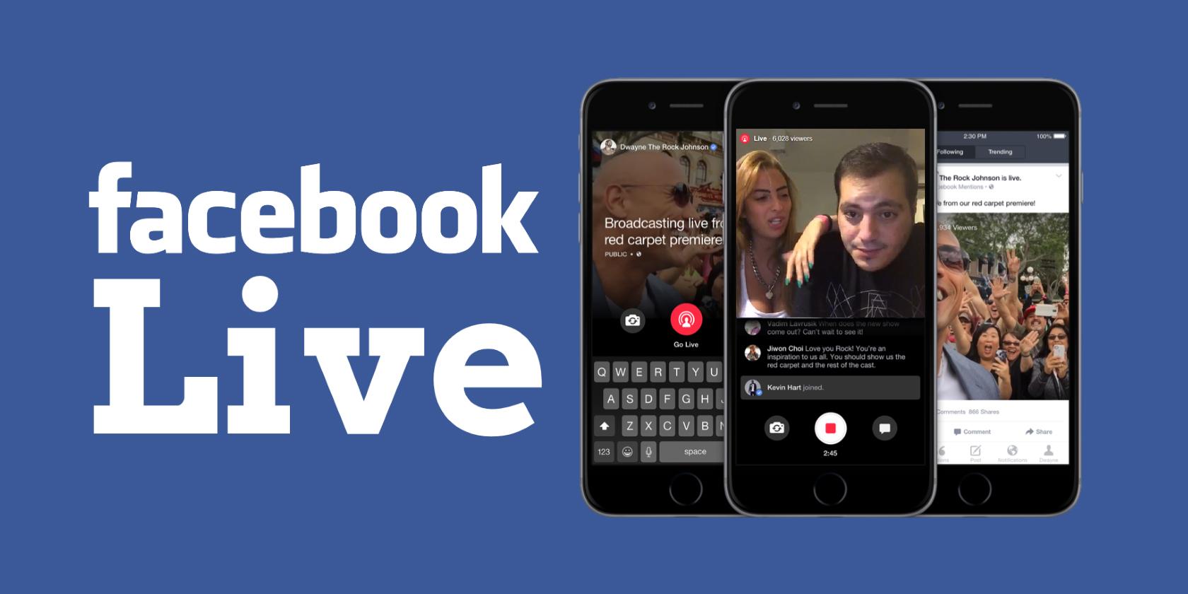 שידור חי בפייסבוק