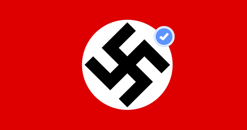 חפשו נאציזם בפייסבוק
