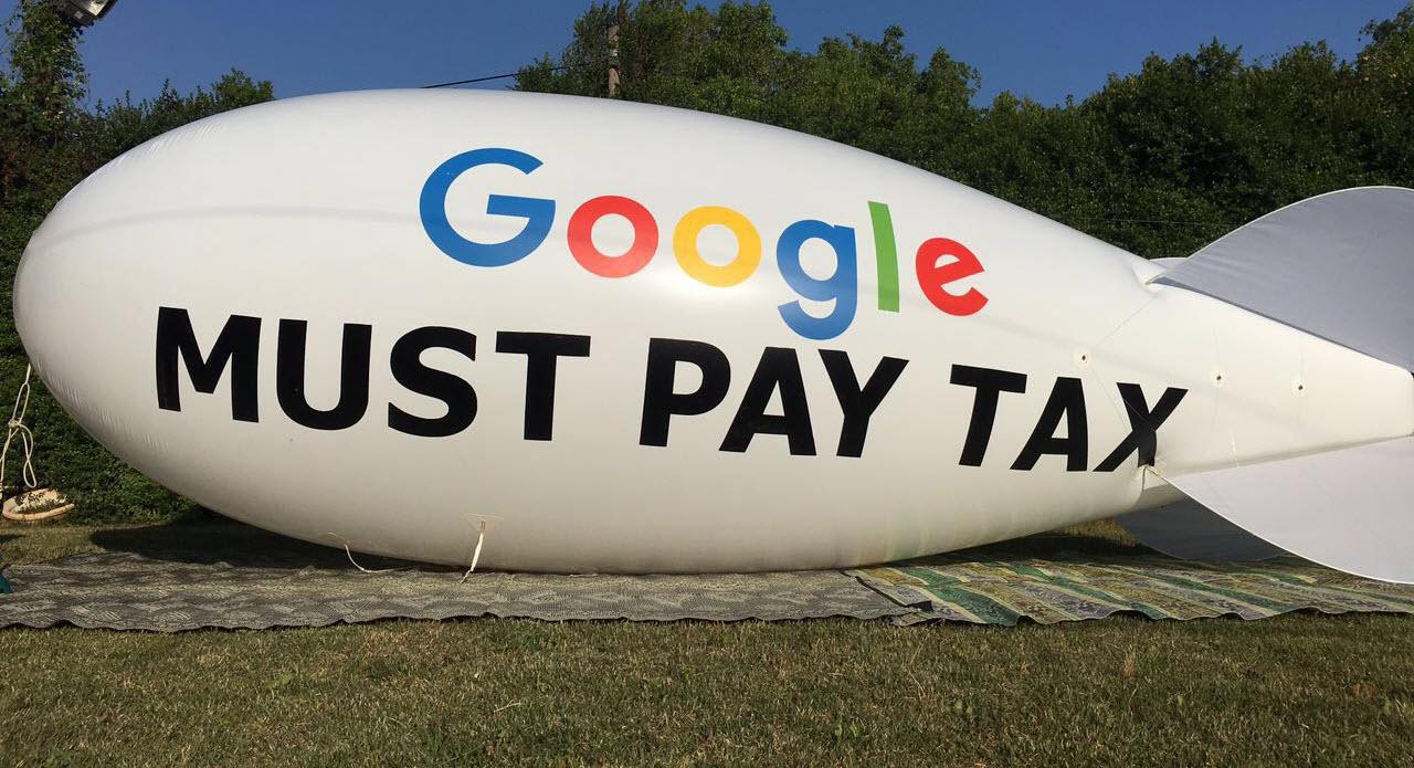 גוגל חייבת לשלם מיסים