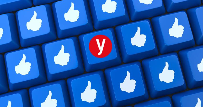 ynet, דירוג עמודי הפייסבוק