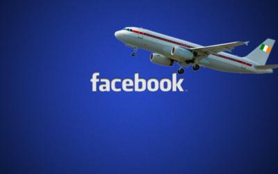 תטוס לפייסבוק אירלנד