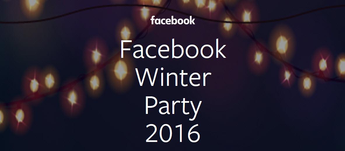 מסיבת חורף 2016 של פייסבוק ישראל