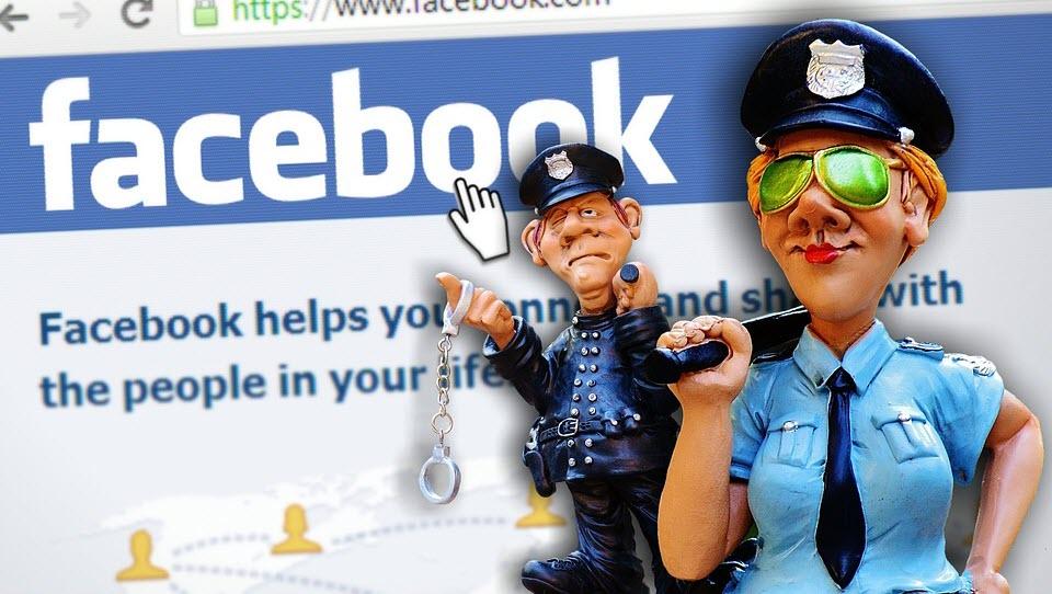 משטרת פייסבוק   PixelBay