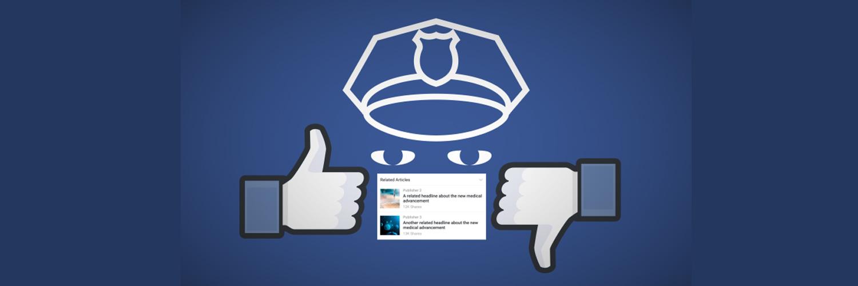 פייק ניוז, פייסבוק
