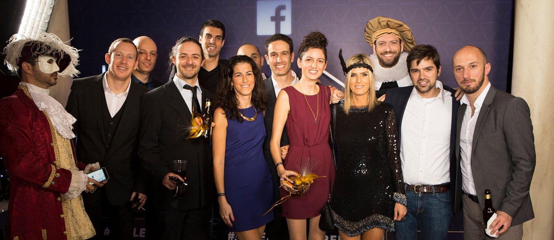 עובדי פייסבוק ישראל (צילום: אירוע חברה)