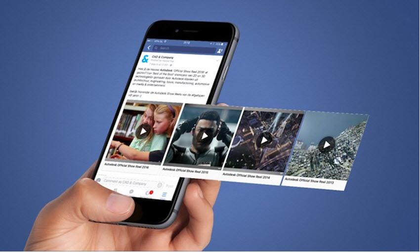 פרסומות וידאו בפייסבוק