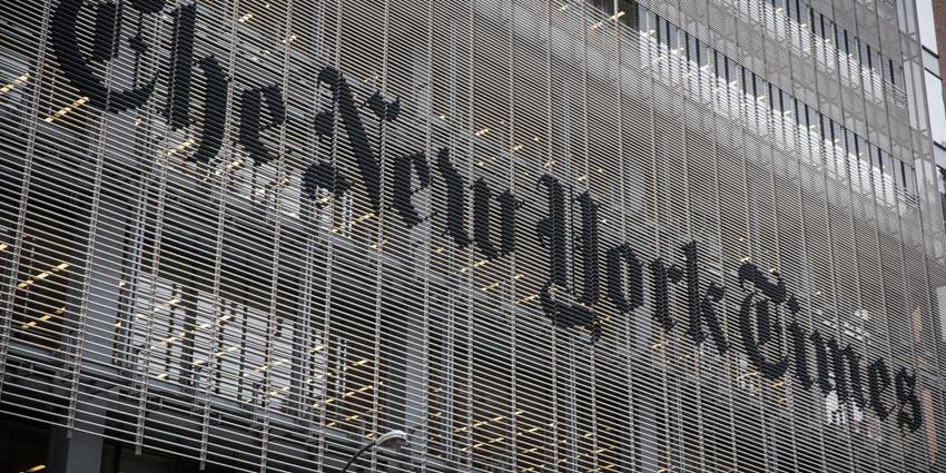 הניו יורק טיימס נגד פייסבוק וגוגל