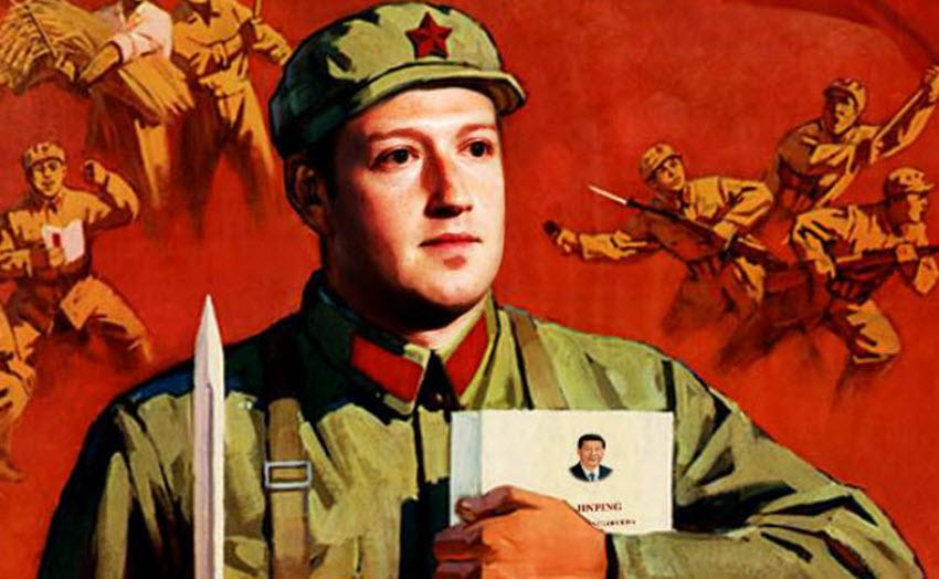 מארק צוקרברג - רוצה את הסינים
