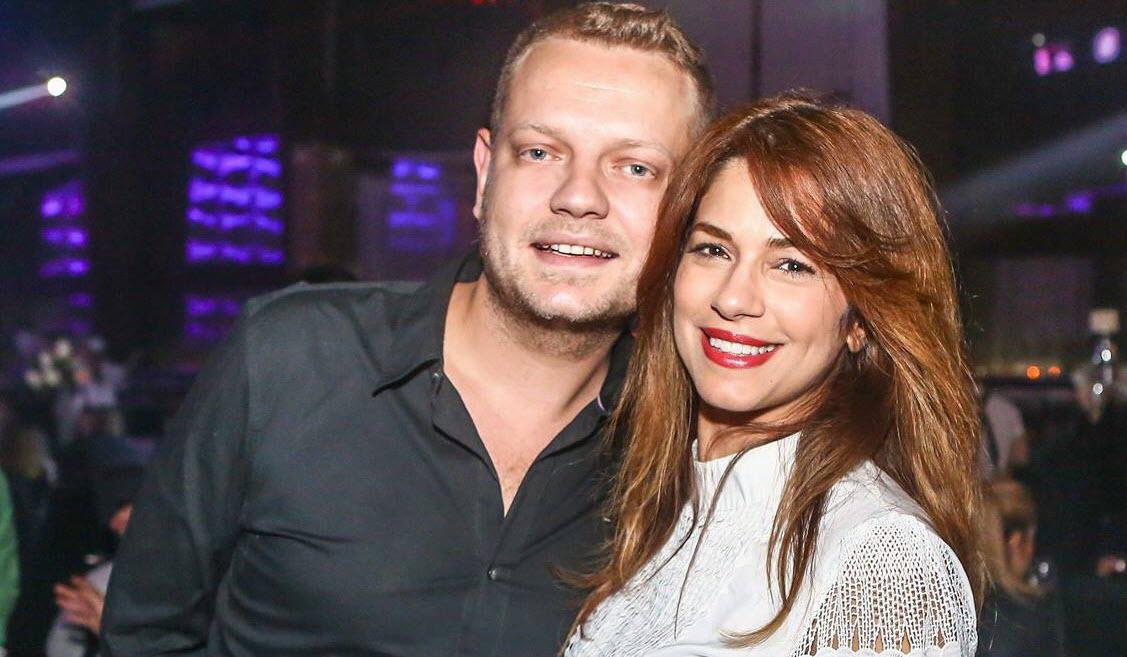 זרובינסקי וזוגתו מירי סדיק