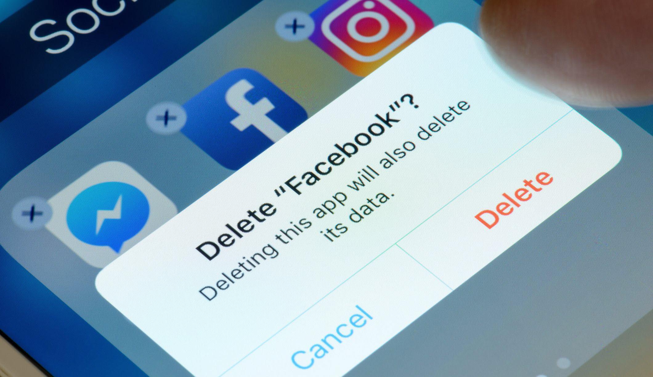מחיקת פייסבוק